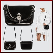 J W ANDERSON Street Style Leather Elegant Style Shoulder Bags