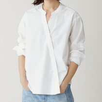 CLOSED Casual Style Long Sleeves Cotton Shirts & Blouses
