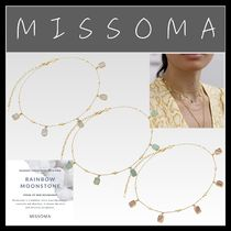 MISSOMA Casual Style Unisex Blended Fabrics Street Style Chain