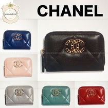 CHANEL Leather Coin Cases