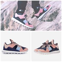 KITH NYC Unisex Street Style Collaboration Logo Sneakers