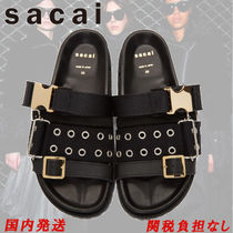 sacai Open Toe Casual Style Sandals Sandal