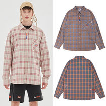 BADINBAD Other Plaid Patterns Casual Style Unisex Street Style