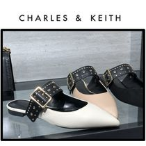 Charles&Keith Casual Style Faux Fur Sandals Sandal