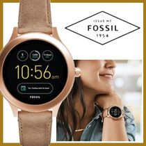 Fossil Casual Style Round Digital Watches