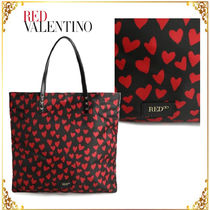 RED VALENTINO Heart Totes