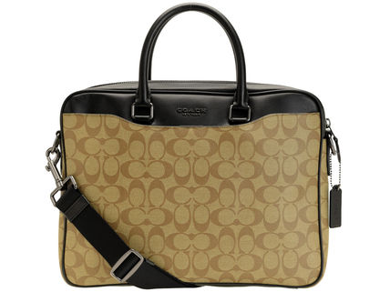 Coach Unisex A4 2WAY Logo Business & Briefcases
