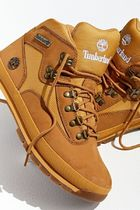 Timberland Mountain Boots Street Style Leather Logo Outdoor Boots