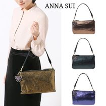 ANNA SUI Leopard Patterns Casual Style Plain Other Animal Patterns