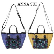 ANNA SUI 2WAY Plain Other Animal Patterns Shoulder Bags