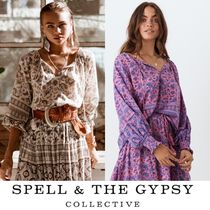 SPELL Paisley Long Sleeves Cotton Shirts & Blouses