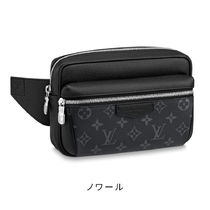 Louis Vuitton BUMBAG Monogram Street Style 2WAY Plain Leather Crossbody Bag