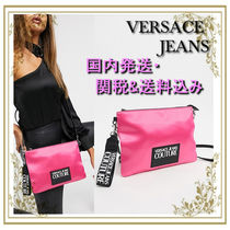 VERSACE JEANS Casual Style Street Style 2WAY Plain Shoulder Bags