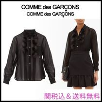 COMME des GARCONS Long Sleeves Plain Party Style Elegant Style