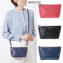 ANNA SUI Casual Style Plain Other Animal Patterns Elegant Style