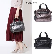 ANNA SUI Casual Style 2WAY Plain Other Animal Patterns Shoulder Bags