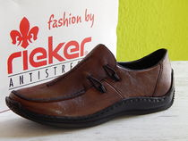 rieker Casual Style Faux Fur Slip-On Shoes