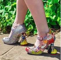 Irregular Choice Round Toe Collaboration Party Style High Heel Pumps & Mules