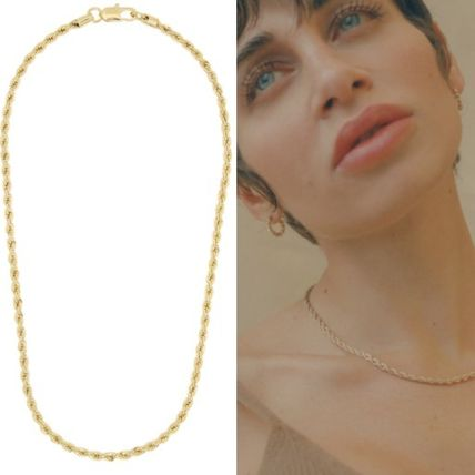 Casual Style Chain Handmade Brass Necklaces & Pendants