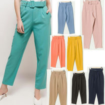 Casual Style Plain Medium Long Party Style Office Style
