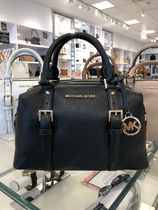 Michael Kors Casual Style 2WAY Plain Leather Office Style Crossbody