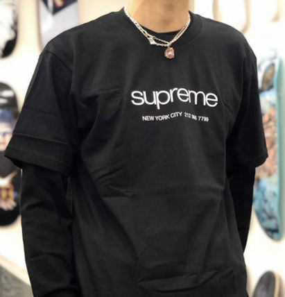 Supreme More T-Shirts Street Style Short Sleeves T-Shirts 3