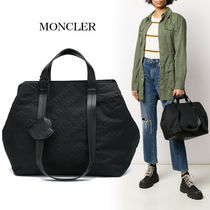 MONCLER Monogram Casual Style Nylon A4 2WAY Totes