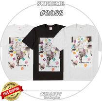 Supreme Street Style Short Sleeves T-Shirts