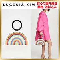 Eugenia Kim Blended Fabrics Straw Bags