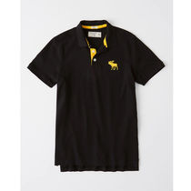 Abercrombie & Fitch Cotton Short Sleeves Polos