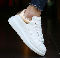 alexander mcqueen Casual Style Unisex Street Style Leather Low-Top Sneakers