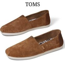 TOMS Plain Toe Plain Shoes