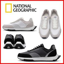 NATIONAL GEOGRAPHIC Unisex Logo Low-Top Sneakers