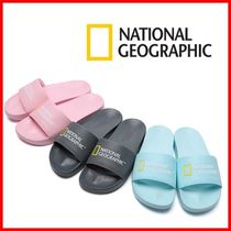 NATIONAL GEOGRAPHIC Unisex Slippers Logo Sandals Sandal