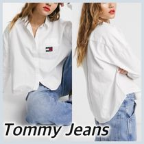 Tommy Hilfiger Long Sleeves Cotton Shirts & Blouses