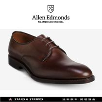 Allen Edmonds Plain Toe Street Style Plain Leather Handmade Oxfords