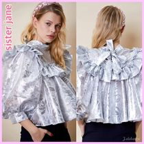 Sister Jane Casual Style Party Style Puff Sleeves Shirts & Blouses