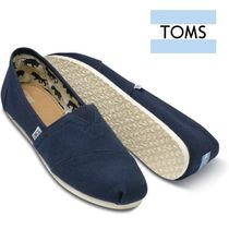 TOMS Plain Toe Casual Style Plain Flats