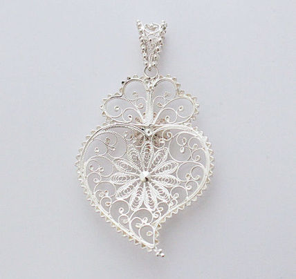 Handmade Party Style Silver With Jewels Formal Style  Fine