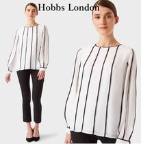 Hobbs London Long Sleeves Plain Party Style Office Style Elegant Style
