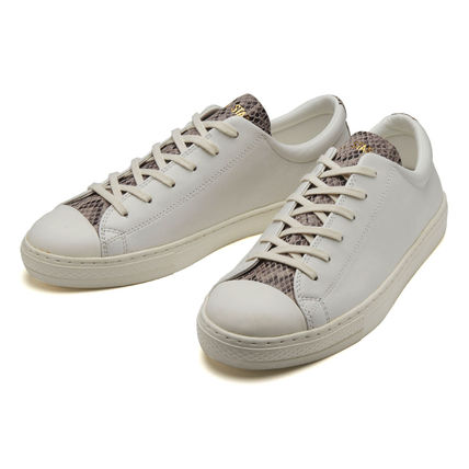 CONVERSE ALL STAR Rubber Sole Casual Style Unisex Street Style Plain