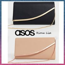 ASOS 2WAY Chain Plain Party Style Elegant Style Bridal Party Bags