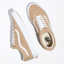 VANS OLD SKOOL Rubber Sole Casual Style Unisex Suede Street Style