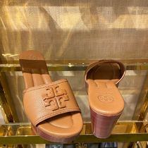 Tory Burch Plain Leather Sandals Sandal