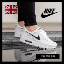 Nike AIR MAX 90 Leopard Patterns Casual Style Unisex Blended Fabrics