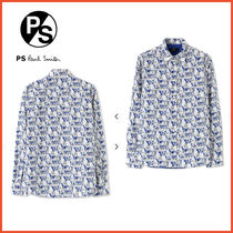 Paul Smith Flower Patterns Casual Style Long Sleeves