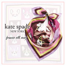 kate spade new york Casual Style Silk Other Animal Patterns Party Style