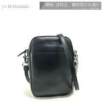 J & M Davidson Casual Style Plain Leather Party Style Elegant Style