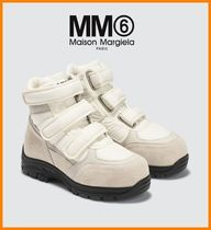 MM6 Maison Margiela Rubber Sole Casual Style Suede Low-Top Sneakers
