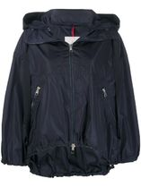 MONCLER Short Nylon Logo Jackets